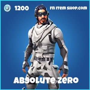 absolute zero rare skin fortnite