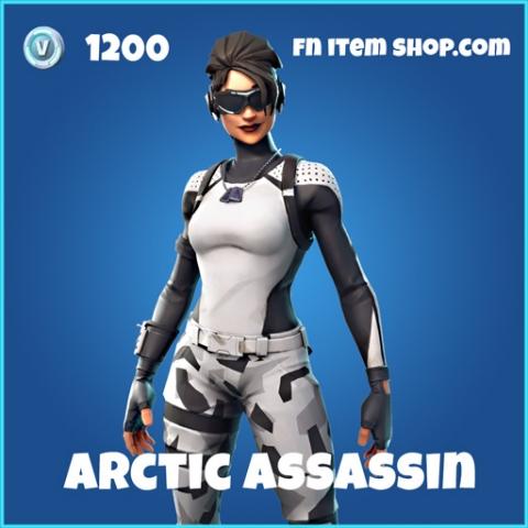 arctic assassin skin rare fortnite