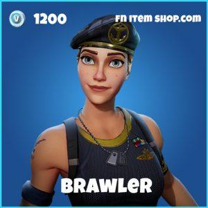 brawler rare skin fortnite