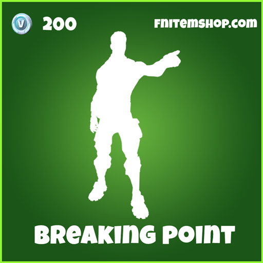 Breaking Point Uncommon Emote