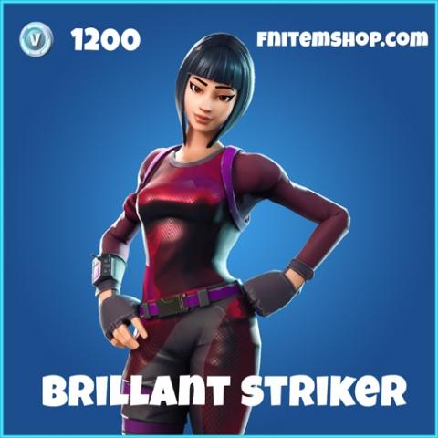 brillant striker rare fortnite