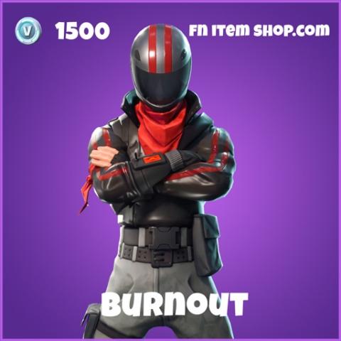 burnout epic skin fortnite