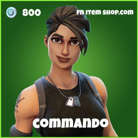 commando skin uncommon fortnite