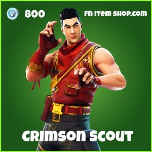 Crimson Scout uncommon fortnite skin