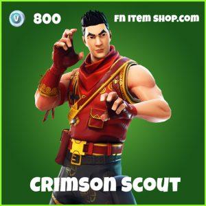 Crimson Scout uncommon fortnite skin