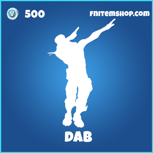 Dab fortnite rare emote