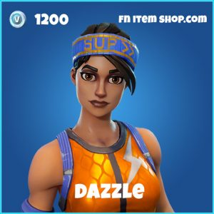 dazzle skin fortnite rare