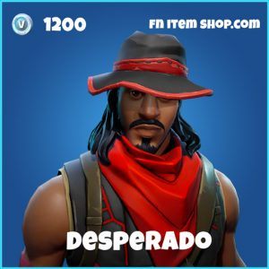 Desperado rare skin fortnite