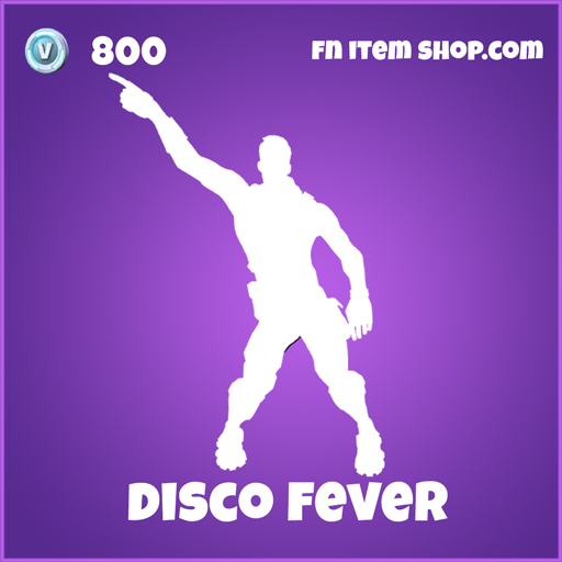 Disco Fever 800 Epic Emote fortnite