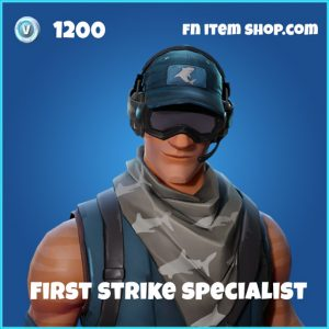 first strike specialist rare skin fortnite