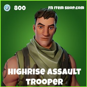 highrise assault trooper skin uncommon fortnite