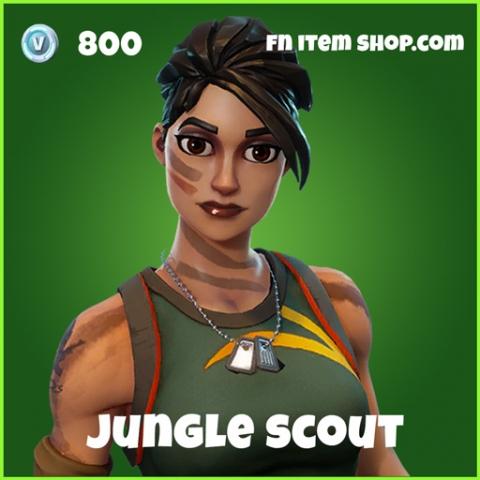 jungle scout fortnite uncommon skin