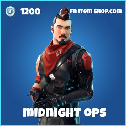 Midnight Ops Skin rare fortnite