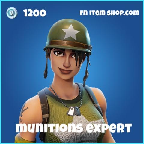 munitions expert rare skin fortnite