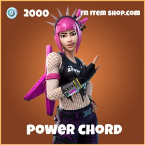 power chord legendary skin fortnite