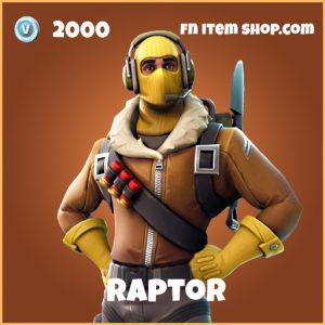 raptor legendary skin fortnite