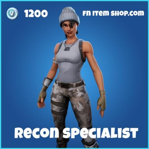 recon specialist rare skin fortnite
