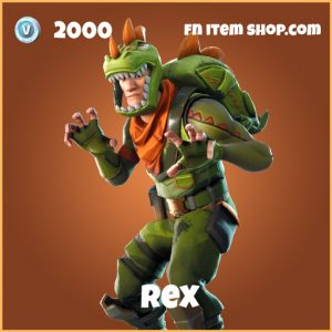 rex legendary skin fortnite