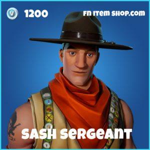 Sash sergeant rare skin fortnite