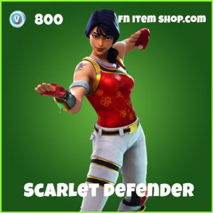 scarlet defender skin uncommon fortnite