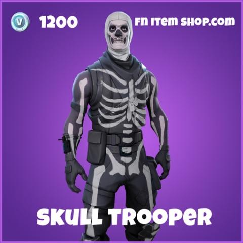skull trooper epic skin fortnite
