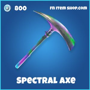 spectral axe rare fortnite pickaxe