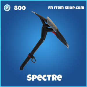 Spectre pickaxe fortnite rare