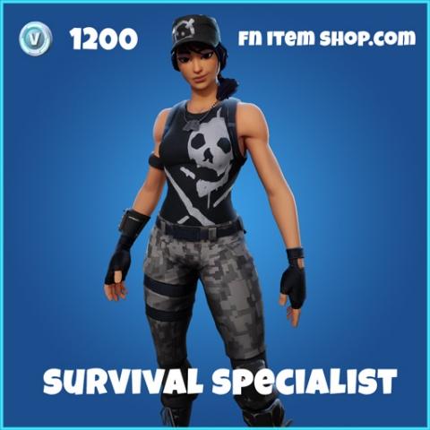 survival specialist rare skin fortnite