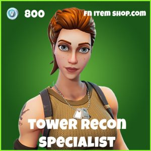 Tower Recon Specialist Skin fortnite uncommon
