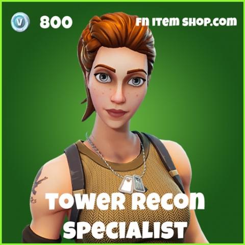 Tower Recon Specialist Skin fortnite uncommon