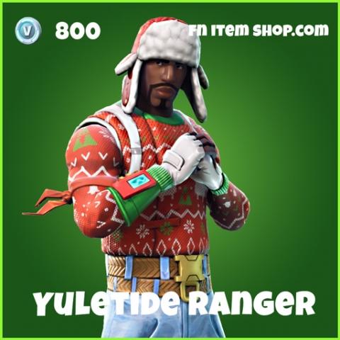 yuletide ranger skin uncommon fortnite