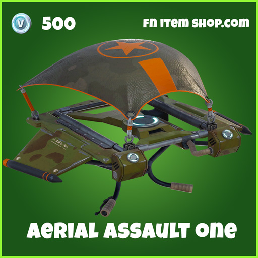 Aerial Assault One 500 glider uncommon fortnite