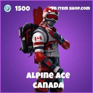 alpine ace 1500 epic skin canada fortnite