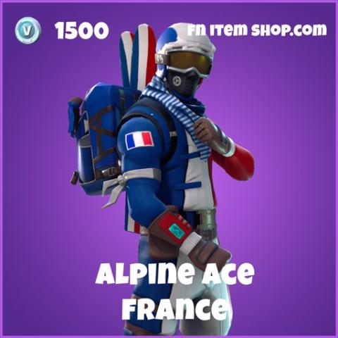 alpine ace 1500 epic skin france fortnite