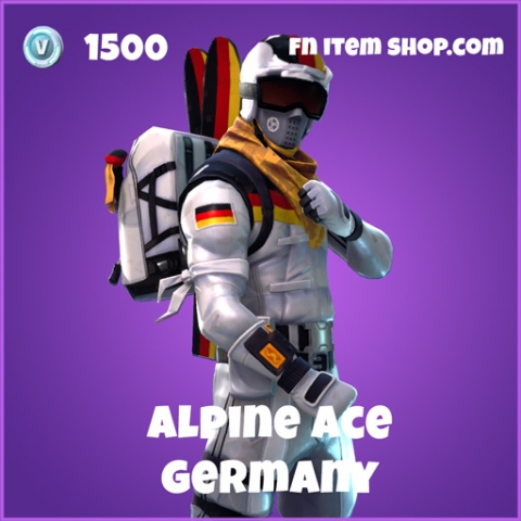 alpine ace 1500 epic skin germany fortnite