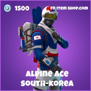 alpine ace 1500 epic skin south korea fortnite