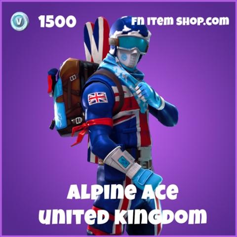alpine ace 1500 epic skin united kingdom fortnite
