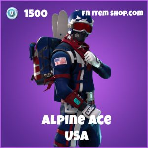 alpine ace 1500 epic skin usa fortnite