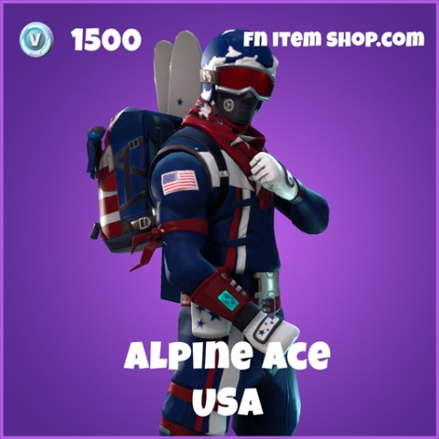 alpine ace 1500 epic skin usa fortnite