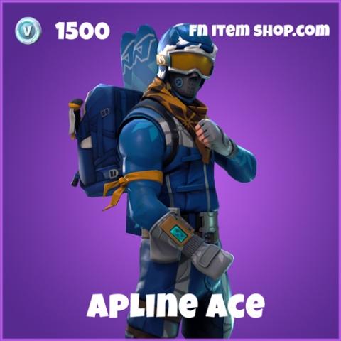 alpine ace 1500 epic skin fortnite