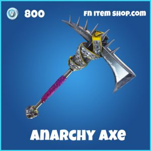 Anarchy pickaxe 800 rare fortnite