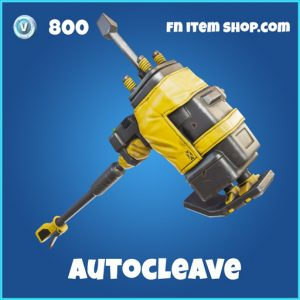 autocleave 800 rare pickaxe fortnite