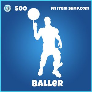 baller 500 rare emote fortnite