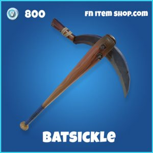 batsickle 800 rare pickaxe fortnite