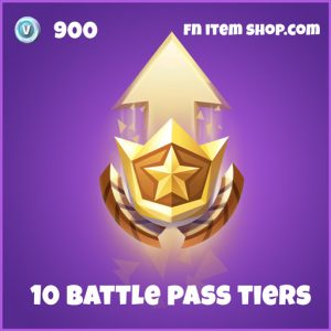 10 battle pass tiers 900 epic special fortnite