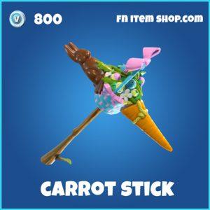 carrot stick rare skin fortnite pickaxe