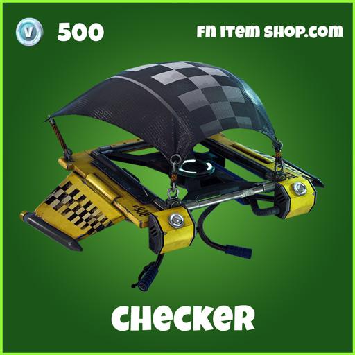 Checker 500 Glider Uncommon fortnite