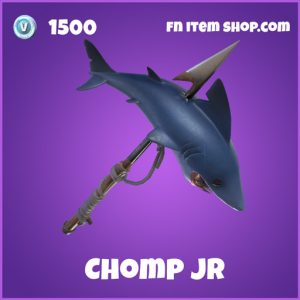 chomp jr epic 1500 pickaxe fortnite