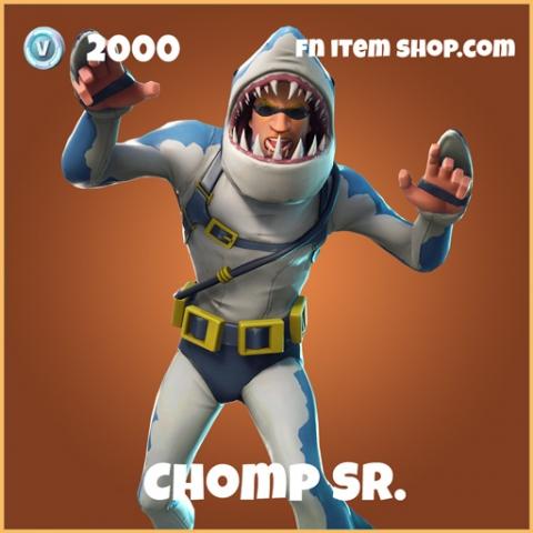 chomp sr 2000 legendary skin fortnite
