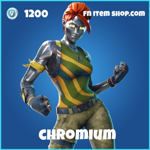 Chromium 1200 rare skin fortnite